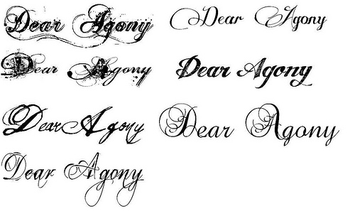 Tattoo Fonts Type Characters Images Styles Ideas Pictures Women Fashion And Lifestyles