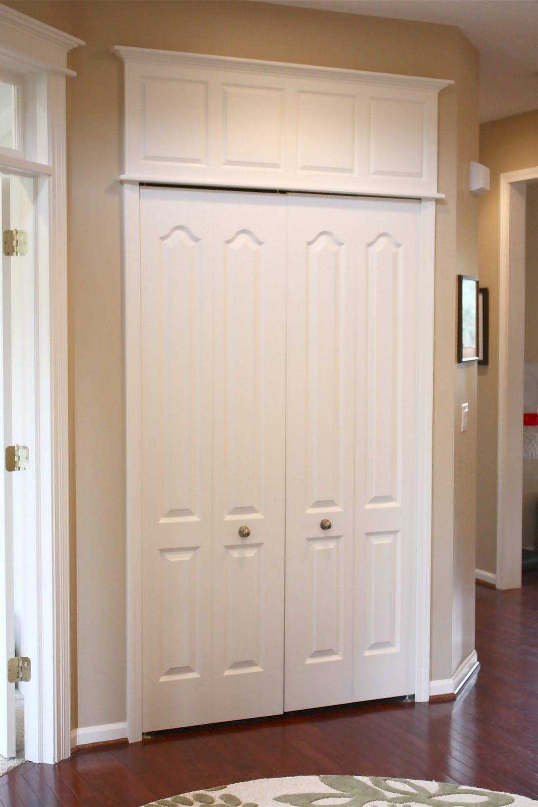 The Yellow Cape Cod How To Make Doors Appear Taller