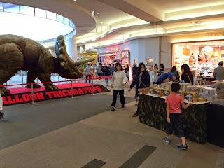 Dinosaur Impact!ダイナソーインパクト  レイクタウン moriに恐竜あらわる!  SAURUS PARK サウルス・パーク