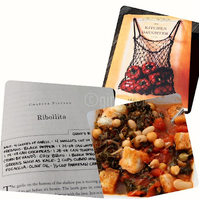 Ribollita inspired by The Kitchen Daughter