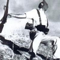 """""""Loyalist Militiaman at the Moment of Death, Cerro Muriano,"""""""