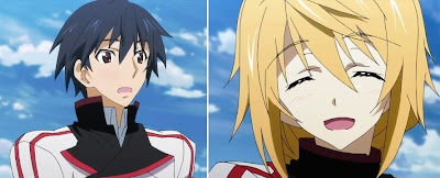 Infinite Stratos Charlotte Dunois, Charles dunoa and ichika