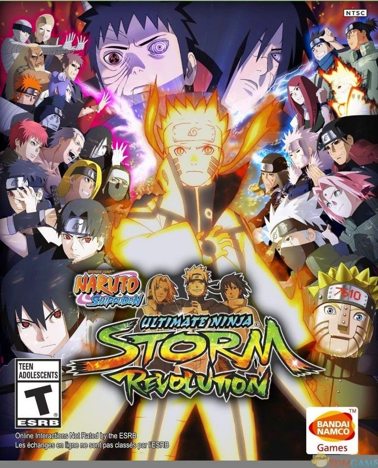 Game NS: Ultimate Ninja Storm Revolution for PC