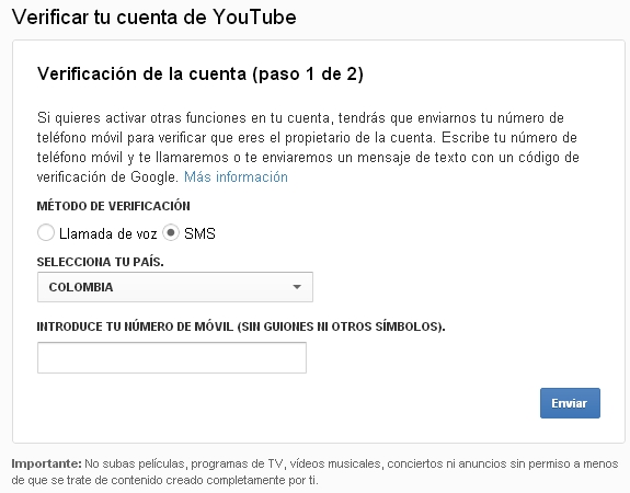 subir videos a youtube sin limite de tiempo