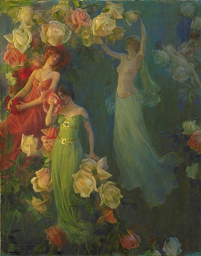 charles courtney curran roses