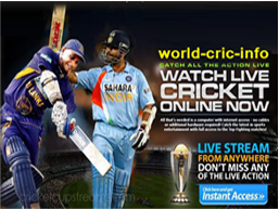 Watch Live Cricket Match