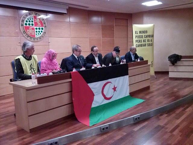 Aminetu Haidar conquista Jaén con la causa saharaui