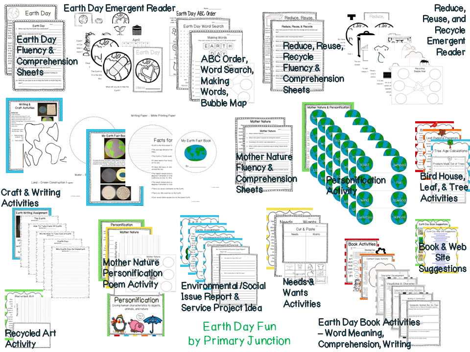 http://www.teacherspayteachers.com/Product/Earth-Day-Fun-Cross-Curricular-Unit-212138