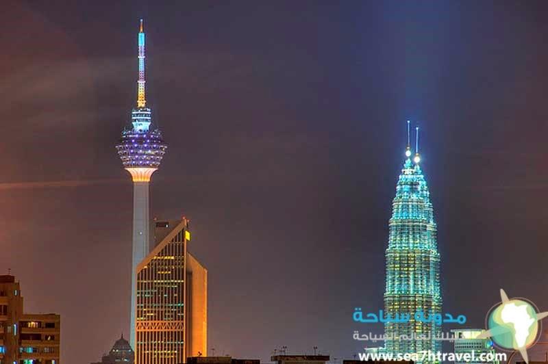 منالاة ماليزيا الشهيرة