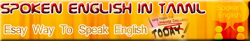Spoken English in Tamil
