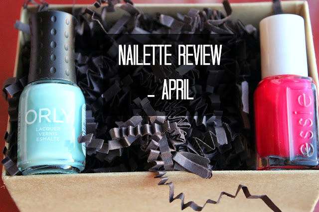 April Nailette Review | Nailpolish subscription service