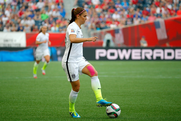 Alex Morgan USA Tim