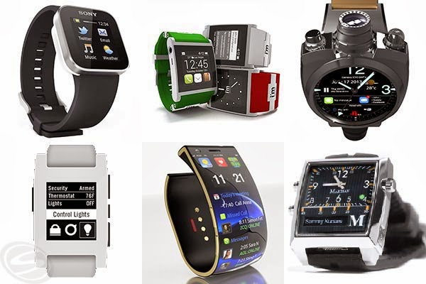 Top 5 Smart watches Companies 2014
