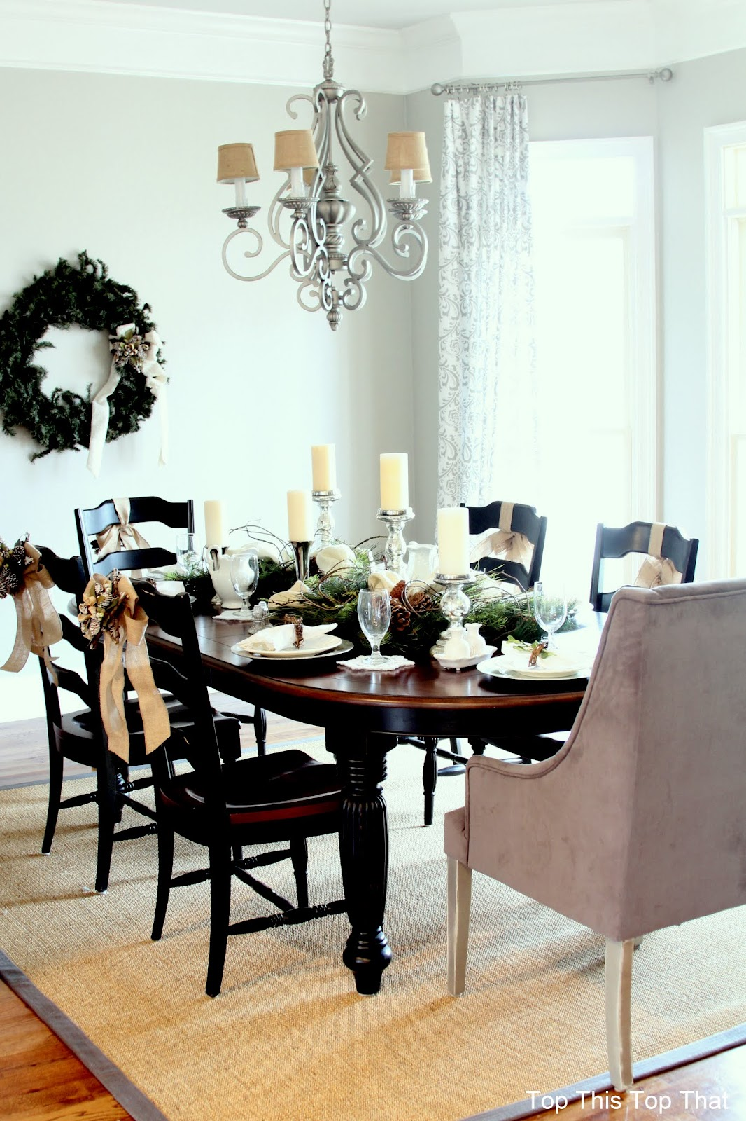 Woodland glam dining room and table duke manor farm for Glam dining table