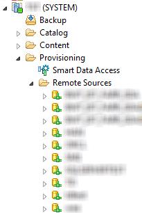SAP Data, SAP material