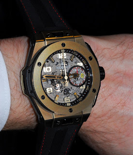wristshot Hublot Big Bang Ferrari Magic Gold