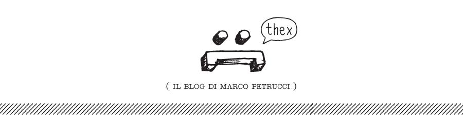 THEX - (il blog di marcopetr)