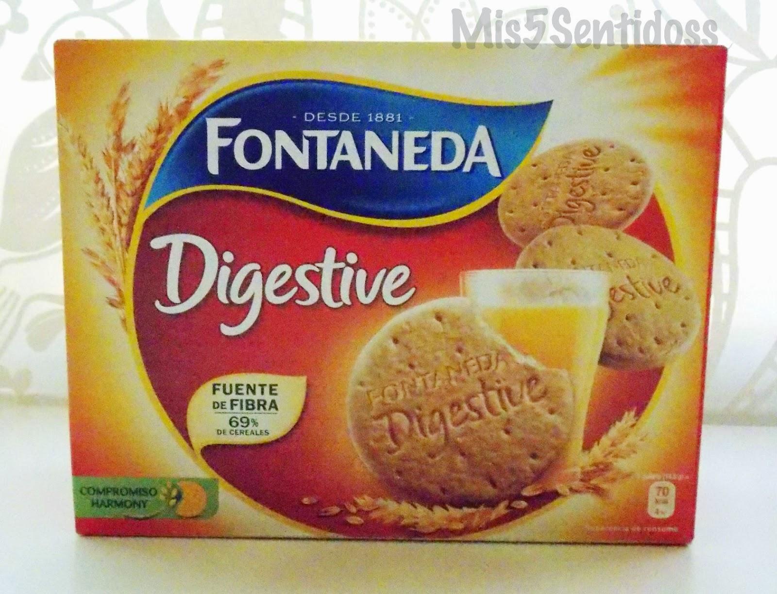 Degustabox agosto 2014 Fontaneda Digestive
