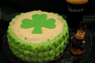 Tarta de Guinness San Patricio