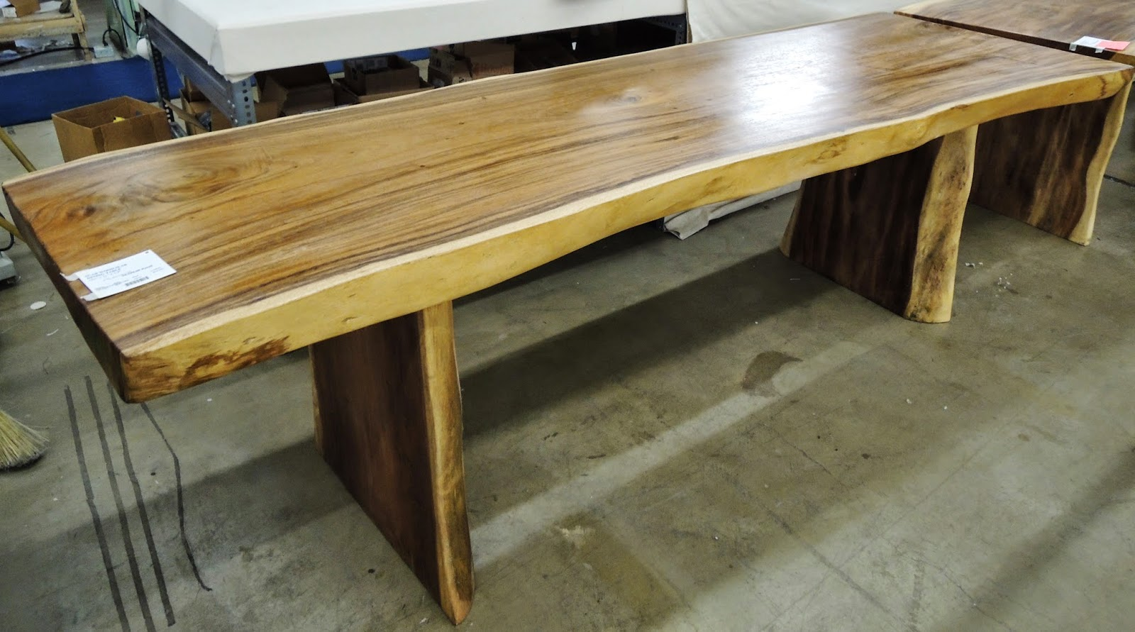 slab table, Bali, Wesco Fabrics, Suar Wood