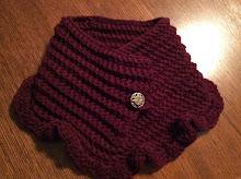 Handmade Crochet Cowl Scarf