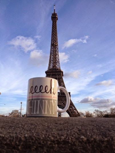 Eeeh Hinny Mug at Eiffel Tower Paris