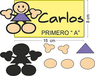 Gafette Para Preescolar