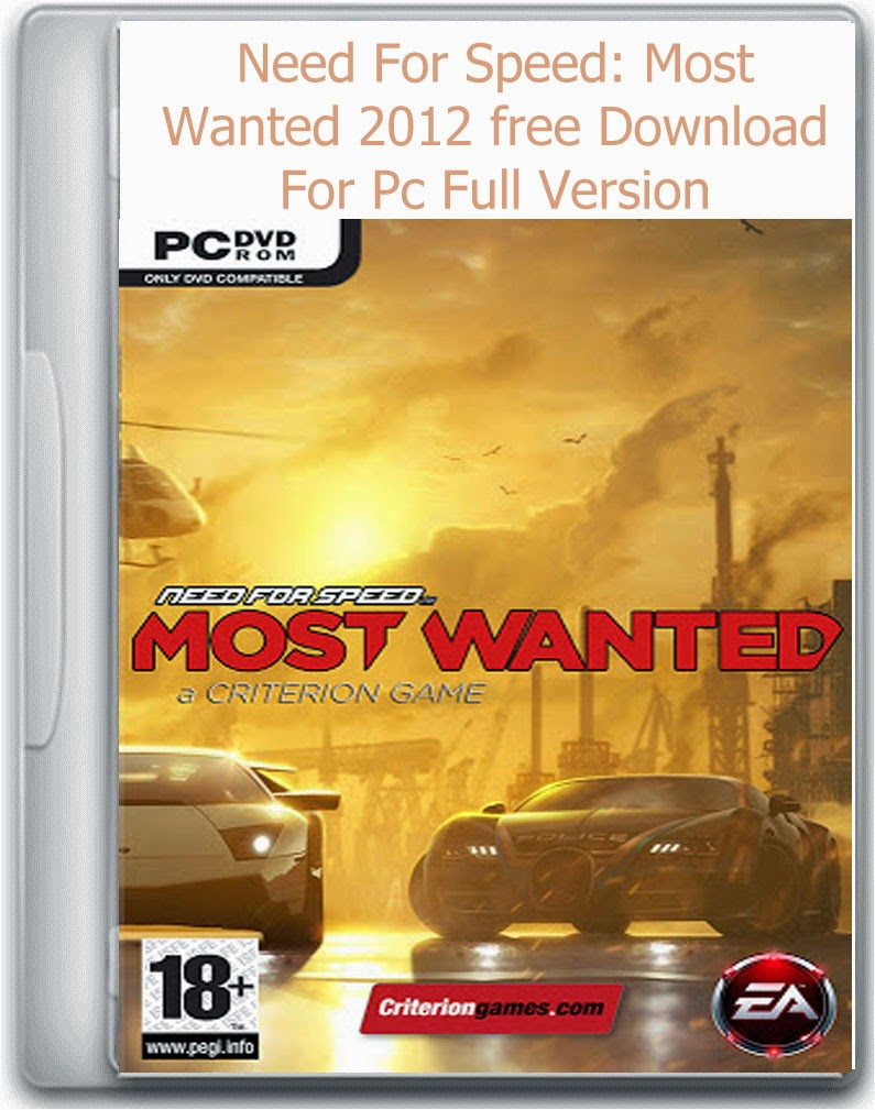 Need For Speed Most Wanted 2012 Free Download For Pc Full