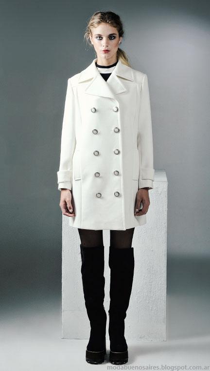 Tapados 2015 moda mujer invierno Mancini.