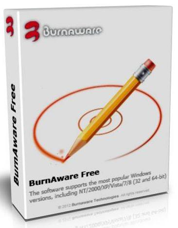 how to use burnaware to copy dvd