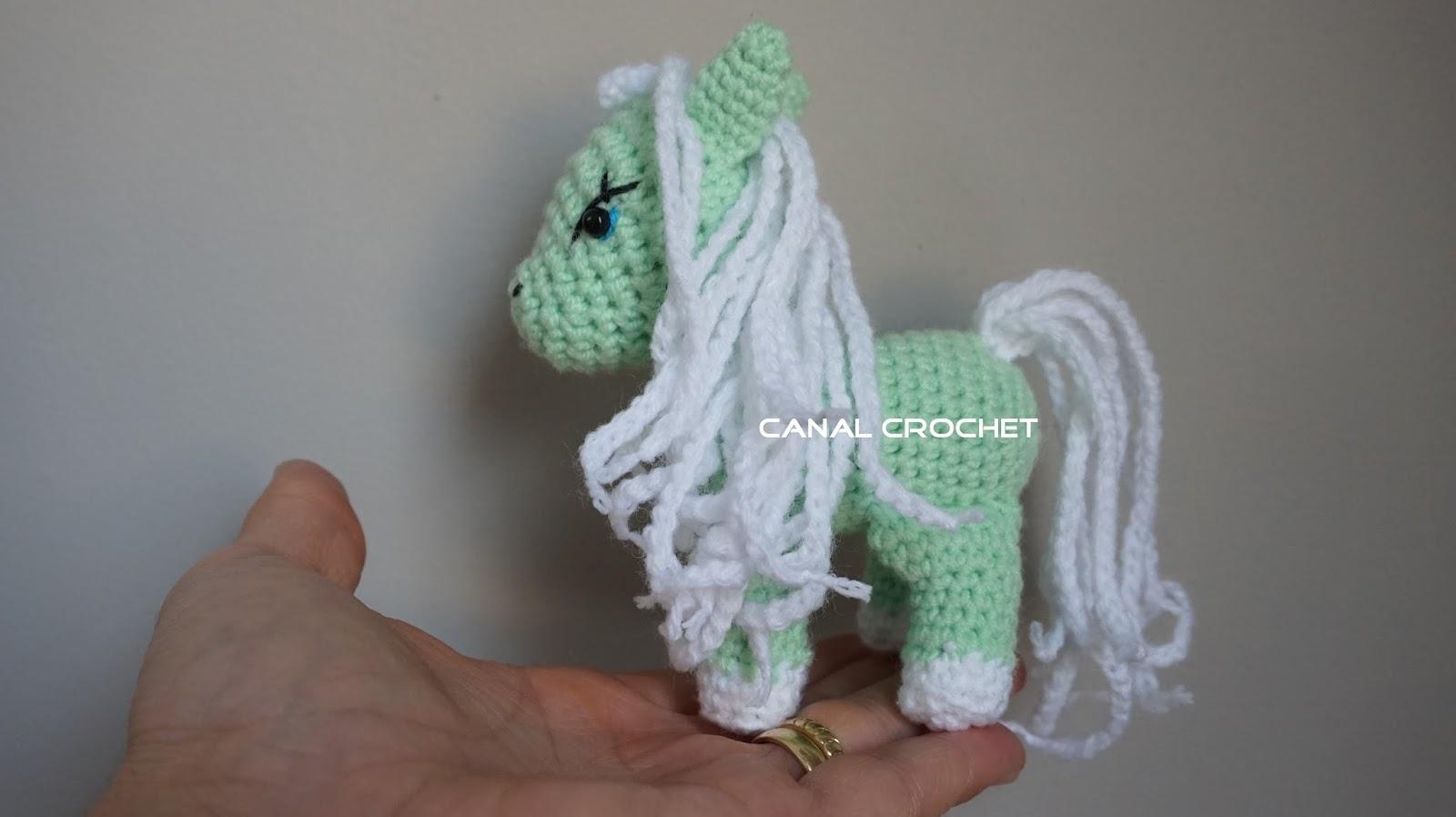 CANAL CROCHET: Pony amigurumi tutorial