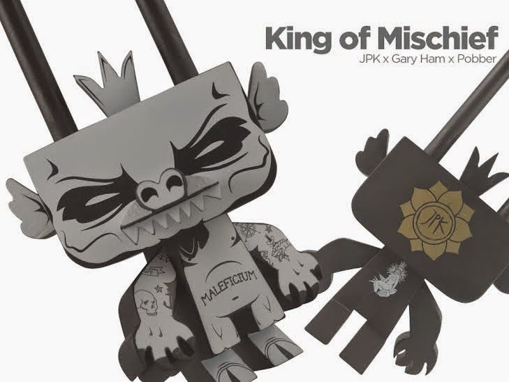 """King of Mischief"" Sylvan Vinyl Figure by Jon Paul Kaiser x Gary Ham"