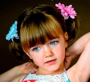 Peinados Para Cabello Corto Peinados Infantiles Con Flequillo De