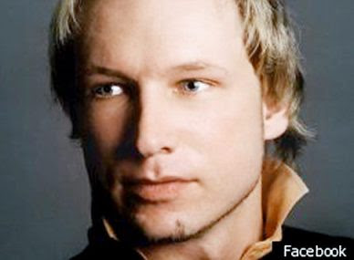Anders Behring Breivik Norway Gunman and Bomber
