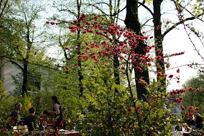 Majakowski Gasthaus Pankow berlin garden