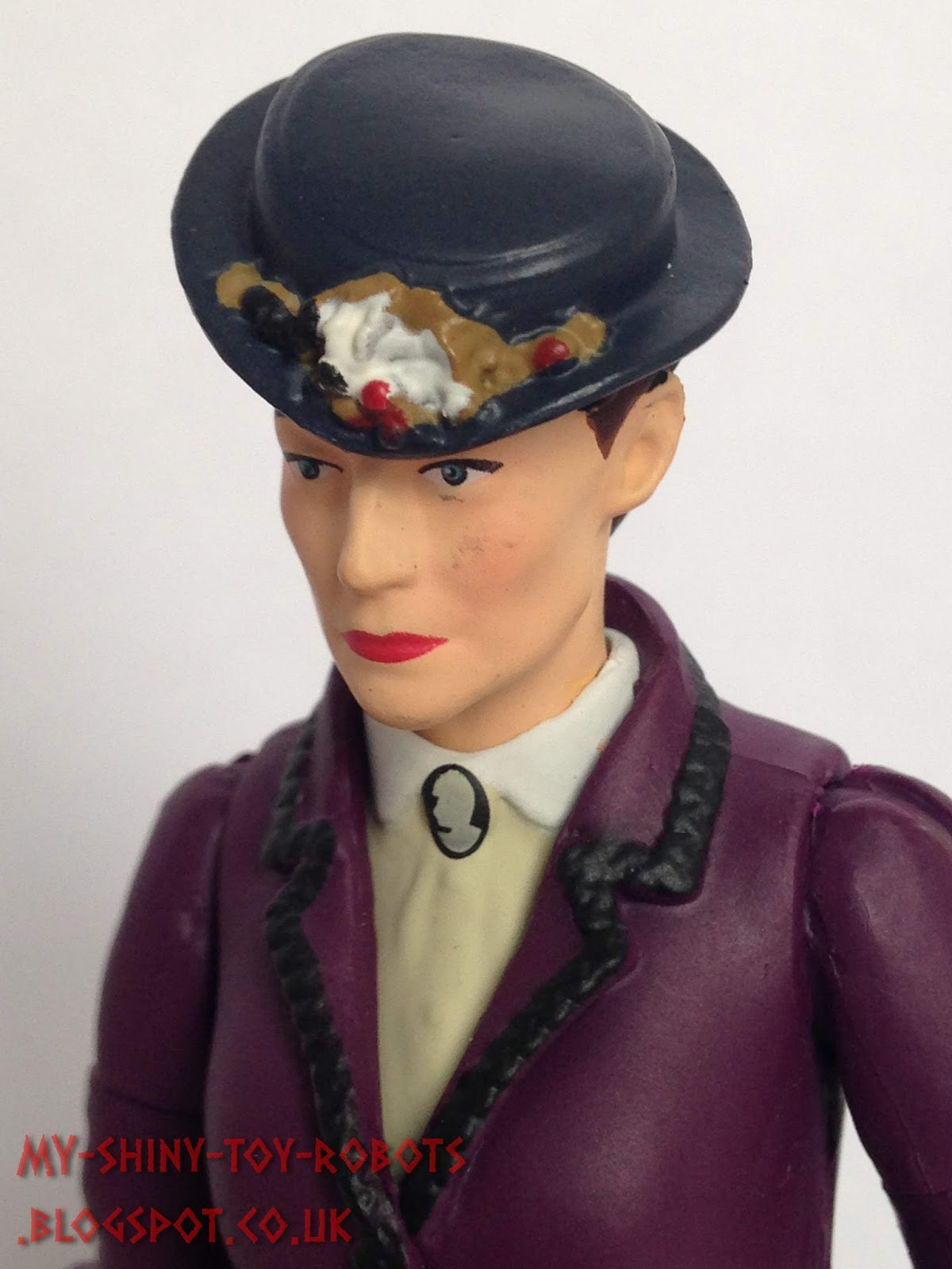 """Doctor Who Missy Bright Purple Dress 5.5/"""" Action Figure"""