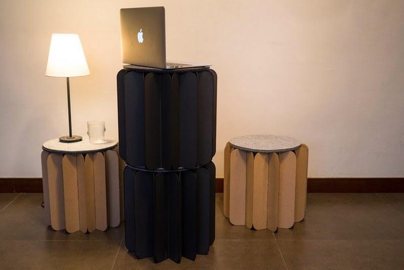 Multifuncional Mueble de Carton