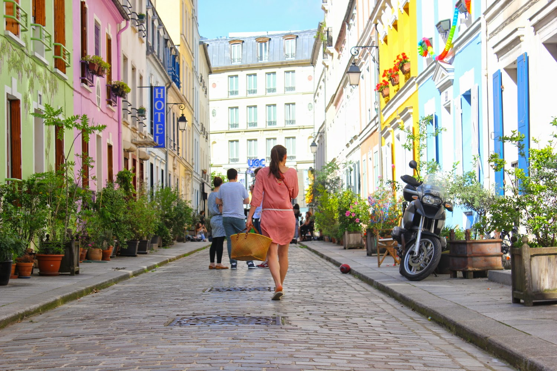 Bella in rue Crémieux, Parigi - foto di Elisa Chisana Hoshi
