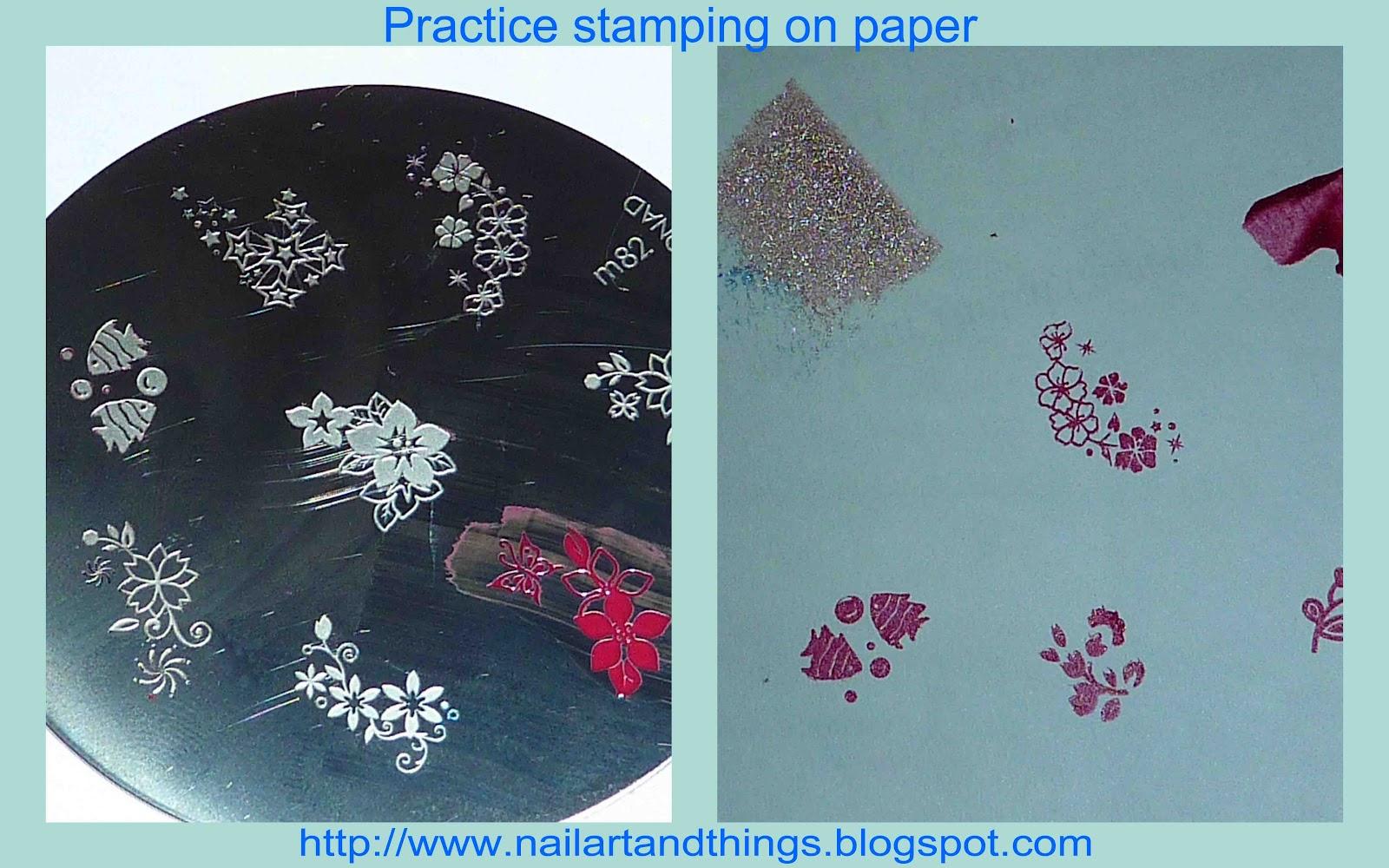 Advanced Nail Stamping Tutorial 22