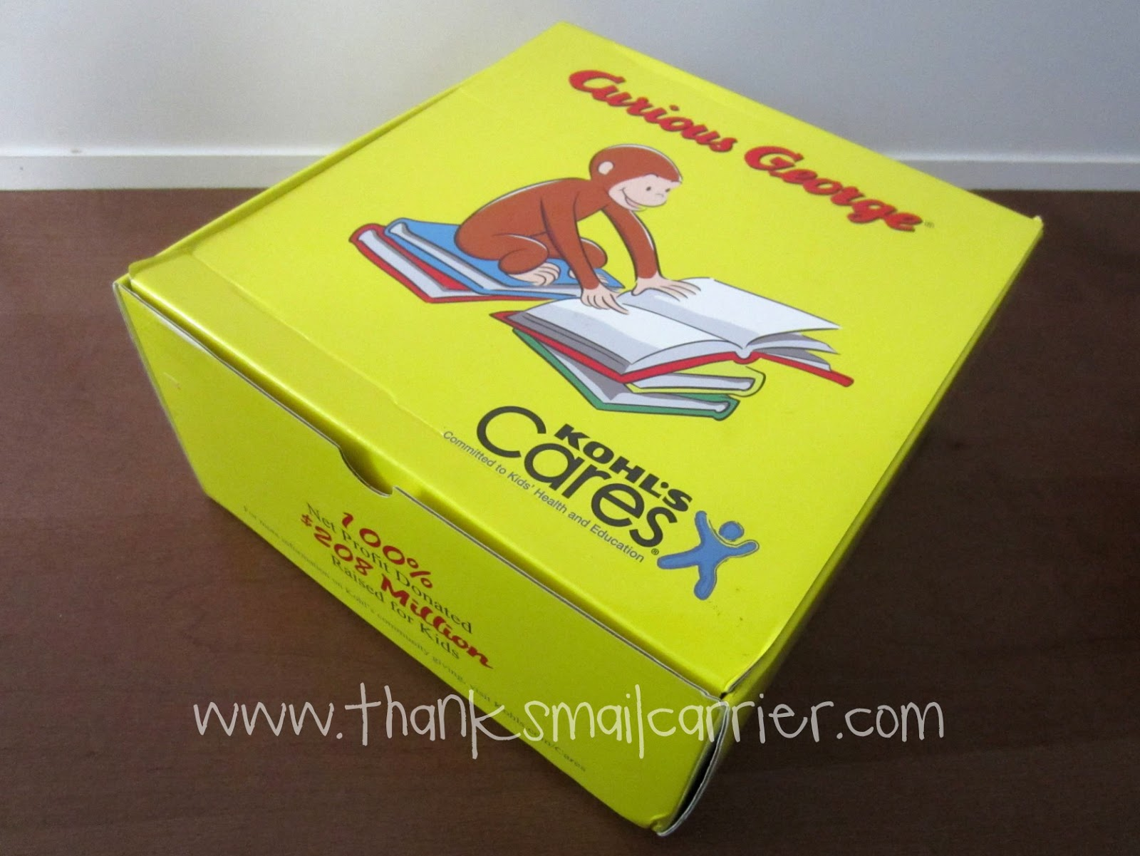 Curious George box