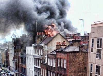 Incendio Londres 2012