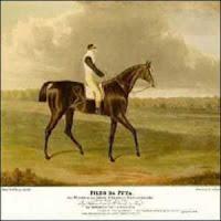 Um cavalo puro sangue inglês cujo nome era um palavrão: Filho da Puta.