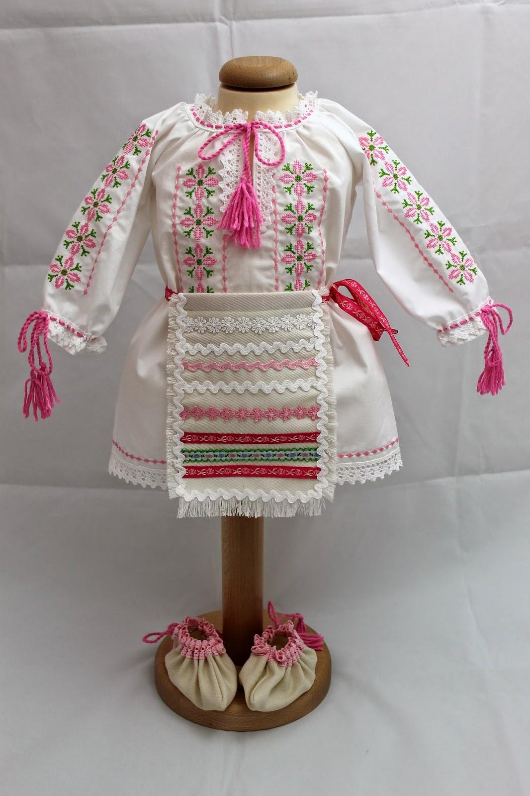 Costum National Botez Fetite