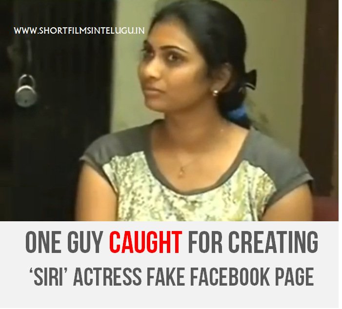 SIRI ACTRESS FAKE FACEBOOK PAGE - VICTIM HELD