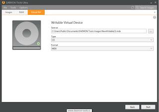 DAEMON Tools Ultra 4 Virtual Device