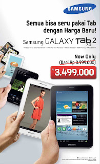Harga Samsung Galaxy Tab 2 7.0 P3100 Android Tablet | Buyers Guide