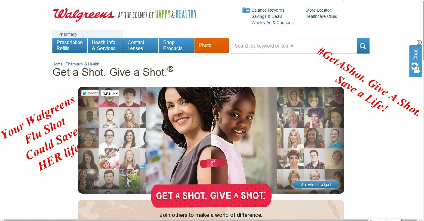 Give a Child the Gift of Health w/ Walgreens' #GetAShot, Give a Shot Campaign