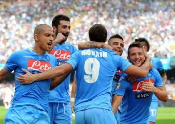 Napoli vs Torino 2-0 Serie A Italian