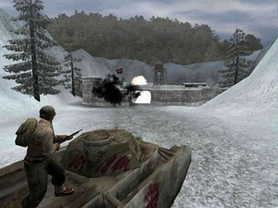Download Game perang online WolfenStein Enemy Territory