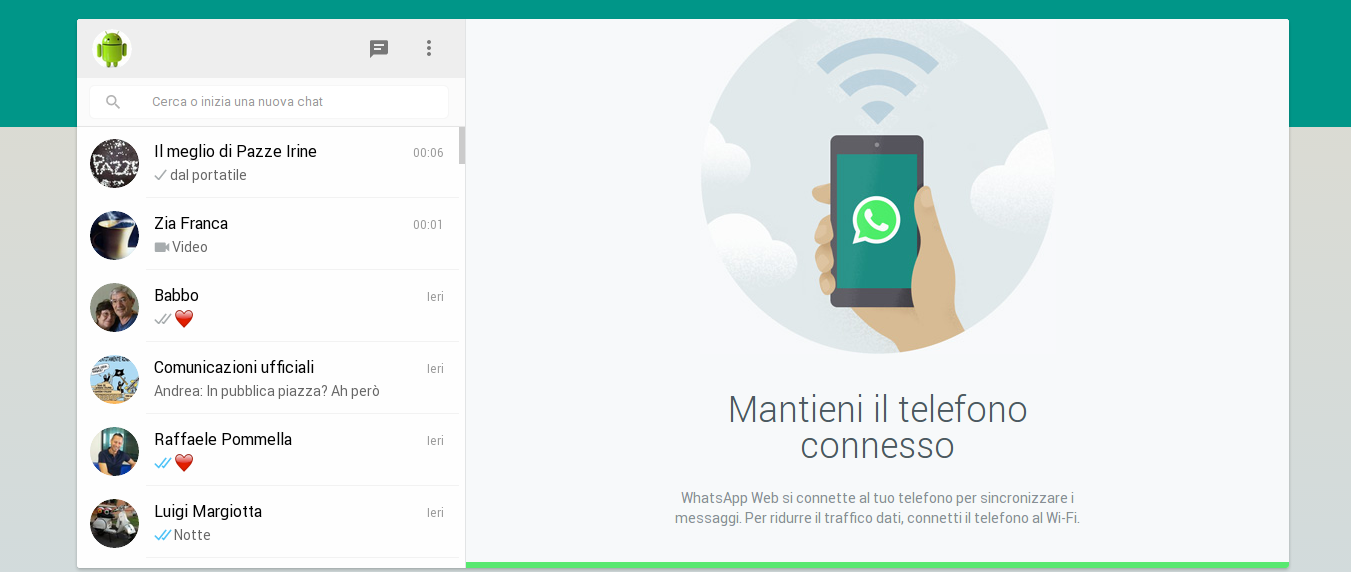 client web di whatsapp